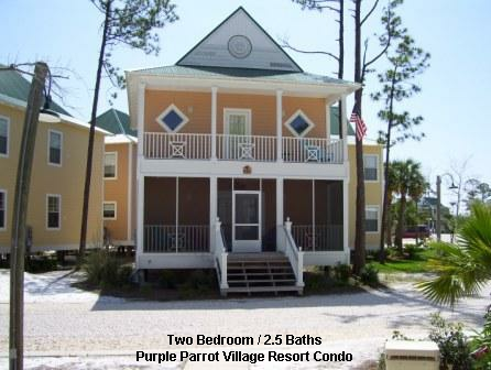 Purple Parrot 2 Bedroom Condo